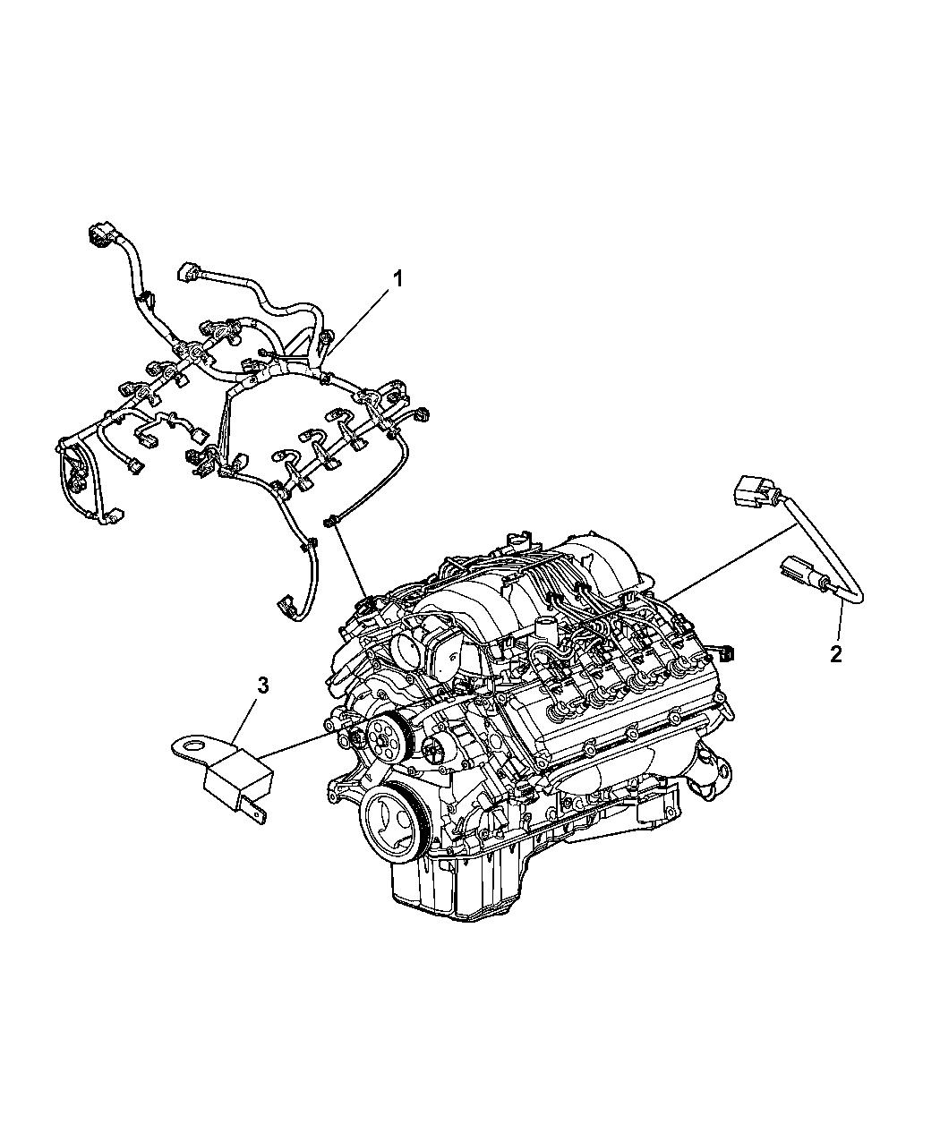 2011 Dodge Charger Wiring Engine Mopar Parts Giant Diagram Thumbnail 1