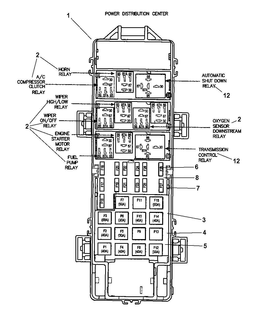 Wiring Diagram PDF: 2003 Jeep Grand Cherokee Fuel Pump