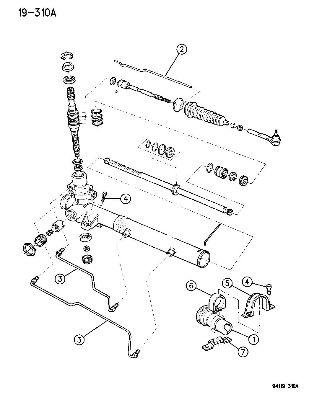 1994 Chrysler Lebaron Gtc Gear