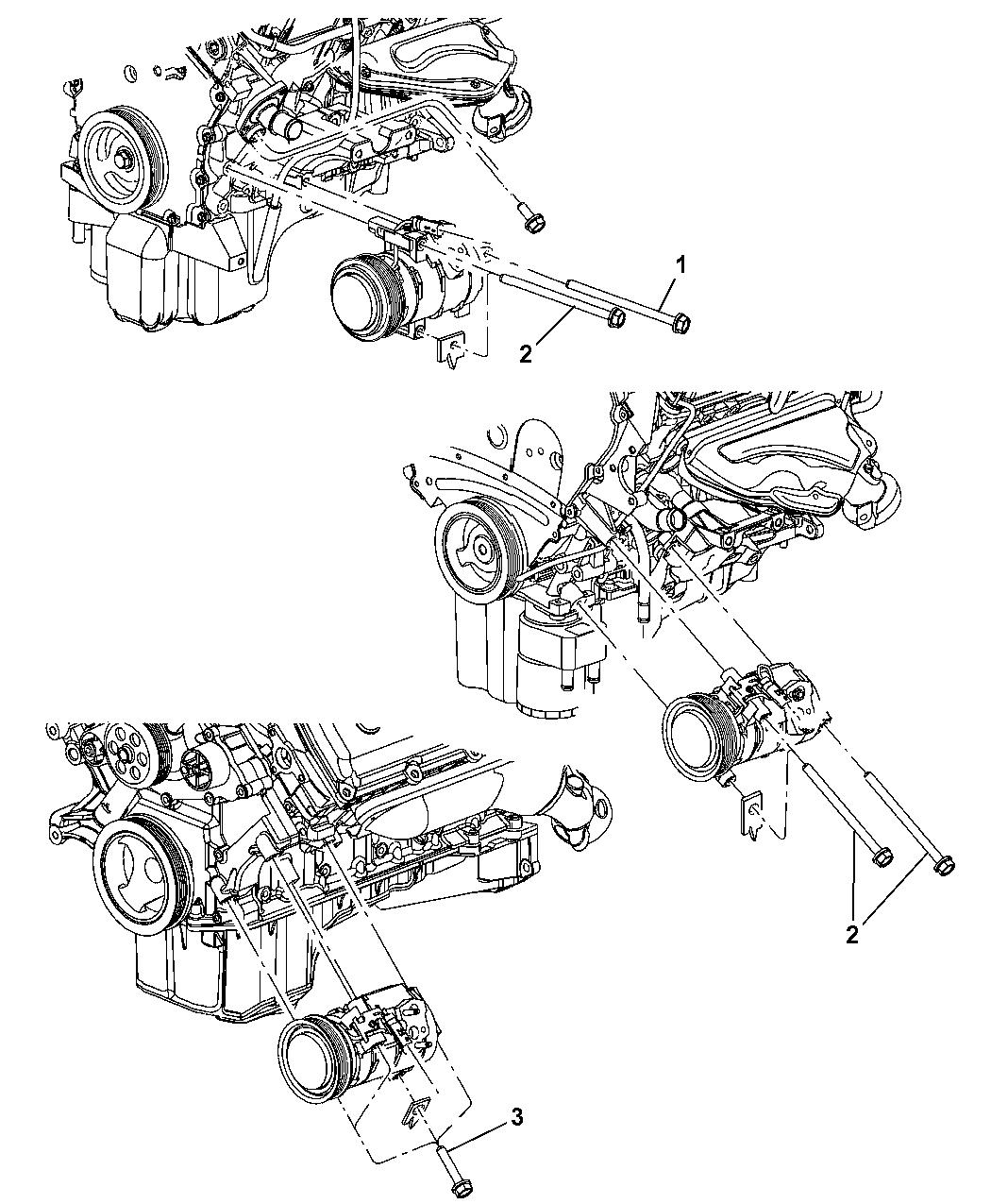 2005 Dodge Magnum Pump Engine Diagram