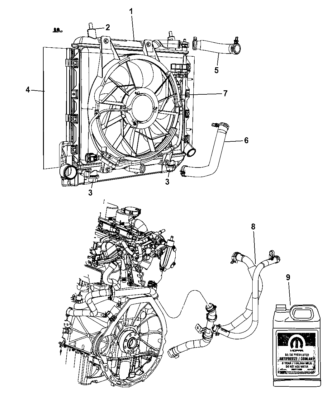 2009 pt cruiser engine diagram