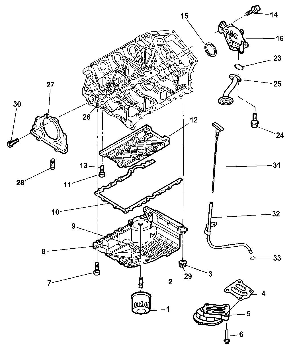 2006 dodge charger engine oiling mopar parts giant Dodge Charger Starter Diagram