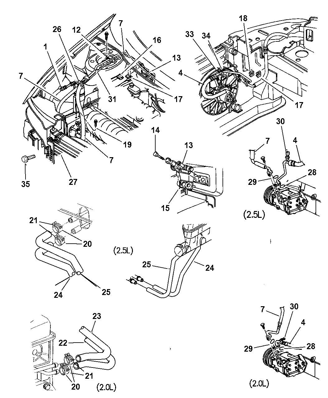 Genuine Chrysler CONDENSER-AIR CONDITIONING