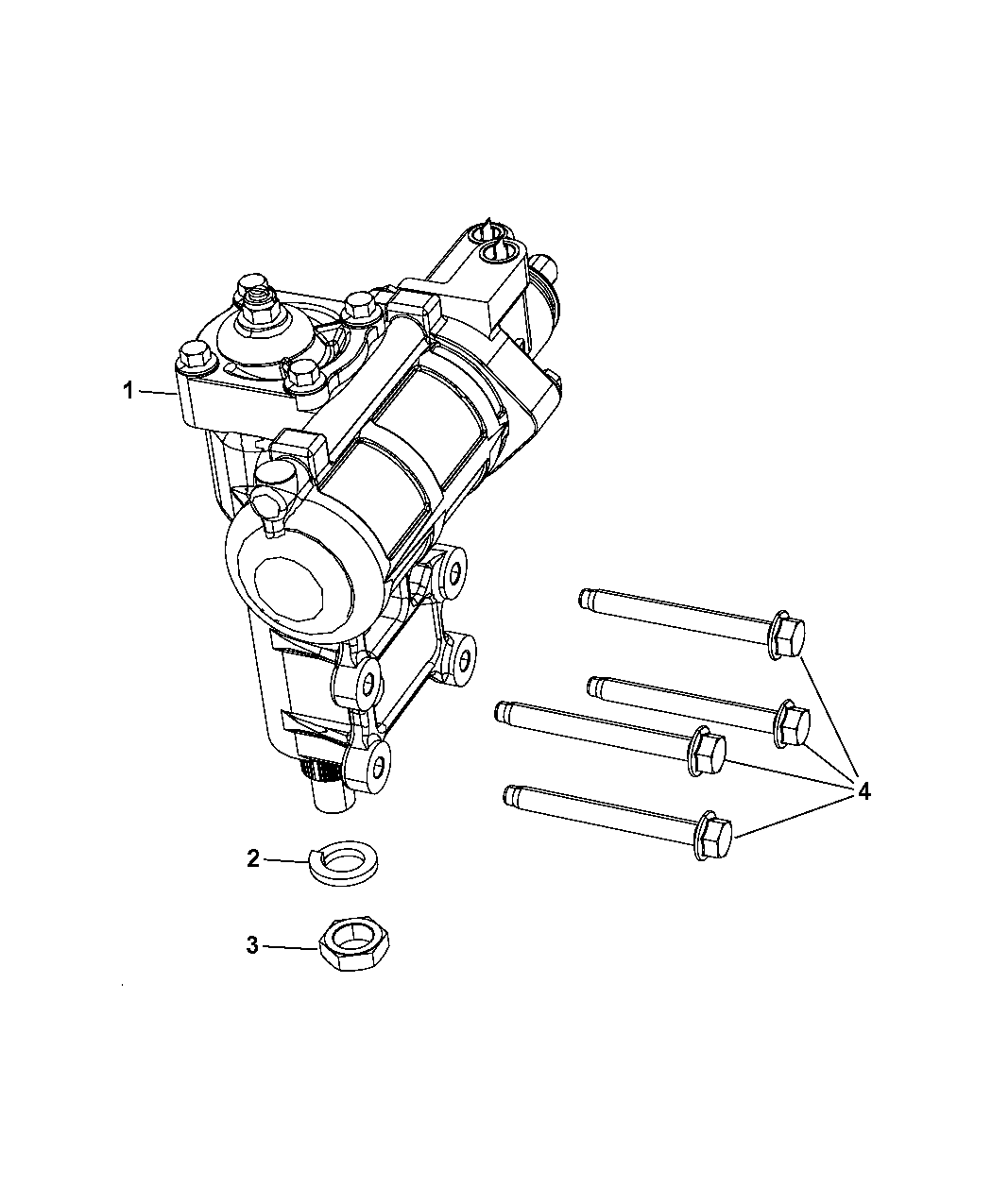 2013 jeep wrangler steering gear box
