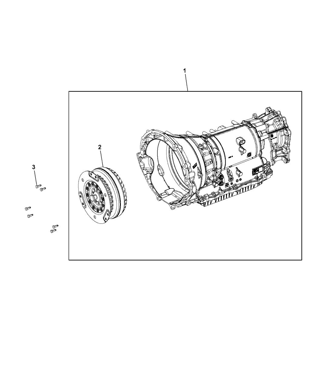 68271048aa Genuine Jeep Transmission With Torque Converter