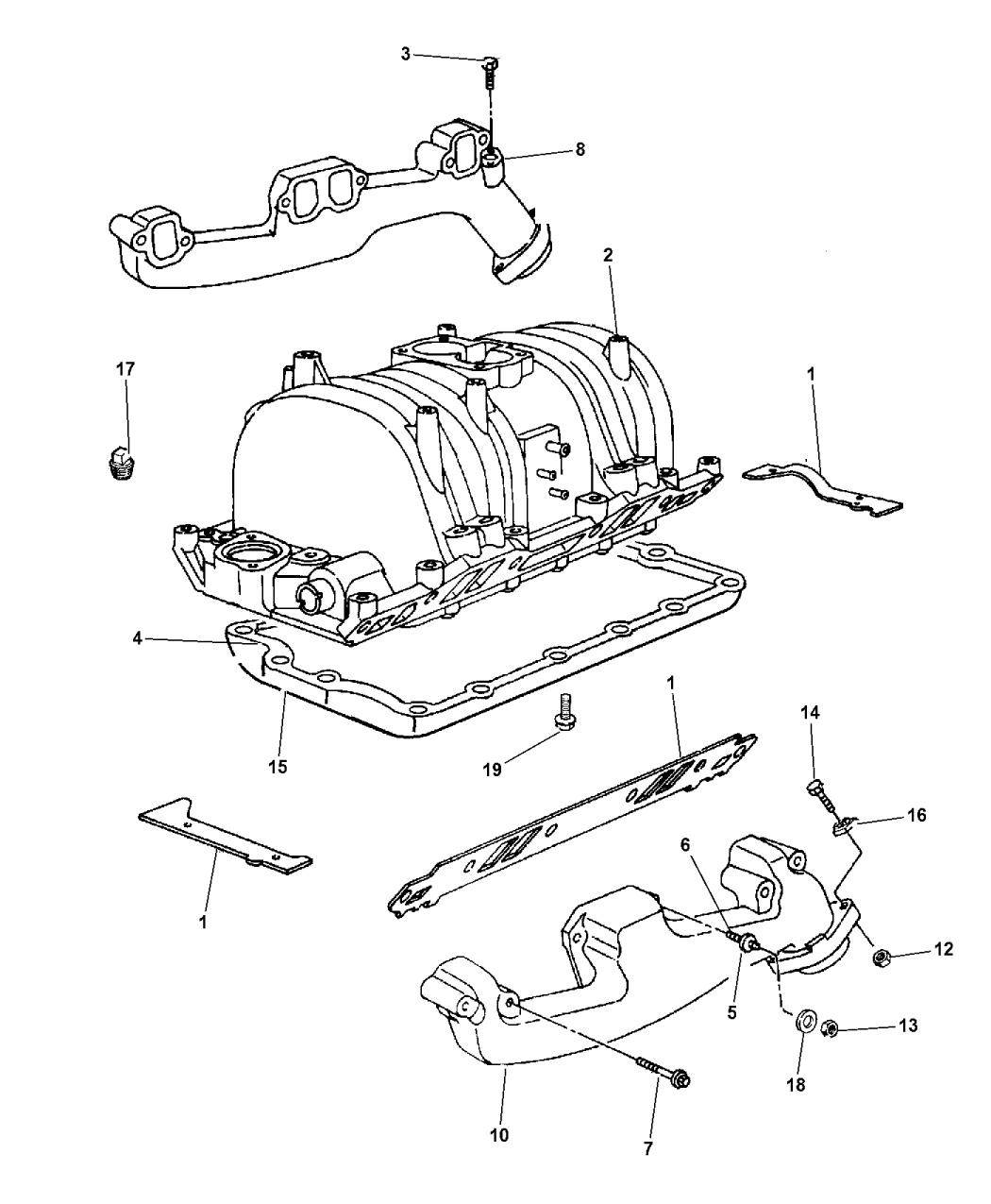 57008125ab genuine mopar shield engine mount. Black Bedroom Furniture Sets. Home Design Ideas