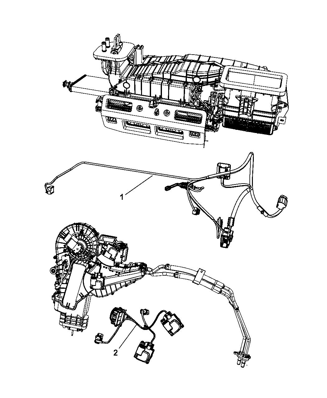 2008 chrysler aspen wiring - a  c  u0026 heater