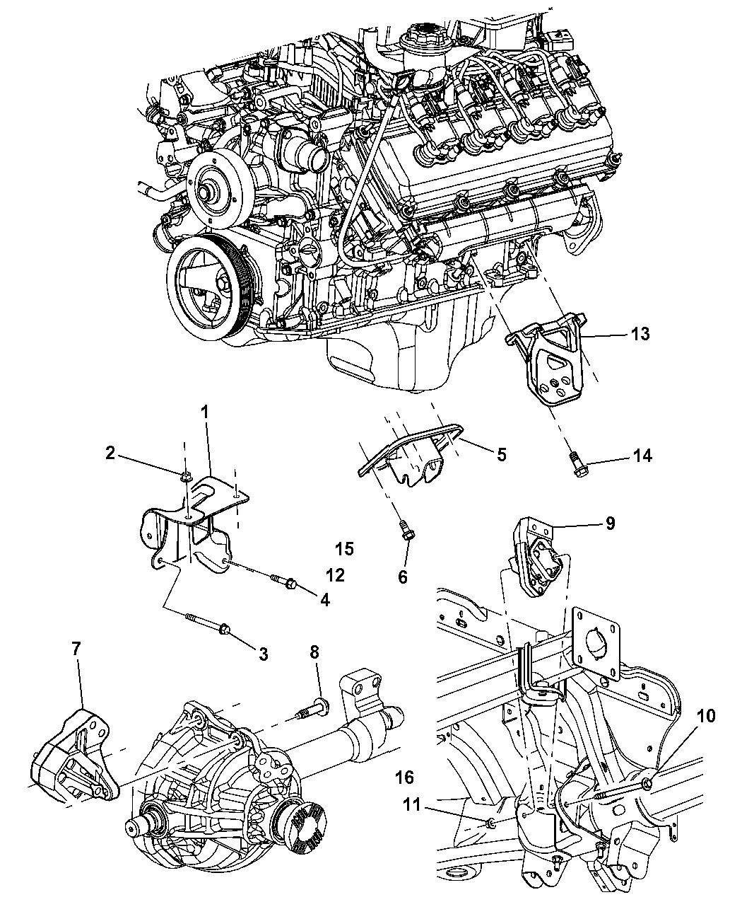 mopar 52021615aa 2004 dodge durango fuse block 2004 dodge durango engine diagram #3