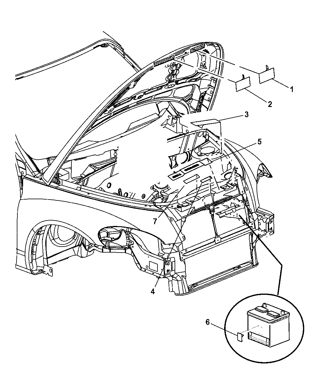 2005 Convertible Pt Cruiser Engine Diagram Wiring Library 06 Chrysler Compartment