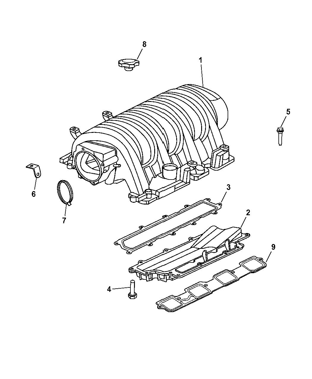 5037390ad Genuine Mopar Manifold Intake Wiring Diagram Chrysler 300 Srt8 For Part No