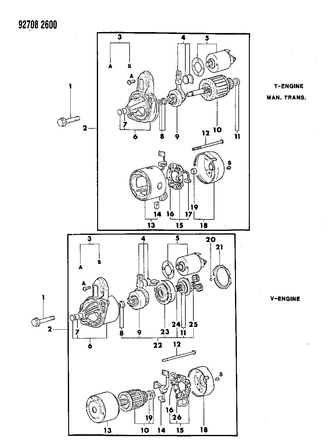 1992 Dodge D50 Wiring Diagram