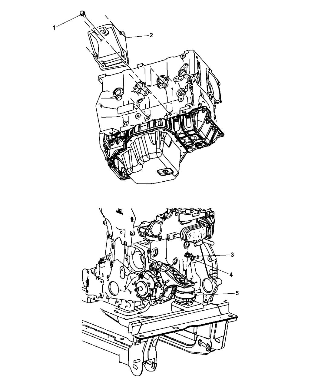 2008 Dodge Nitro Engine Mounting - Thumbnail 6