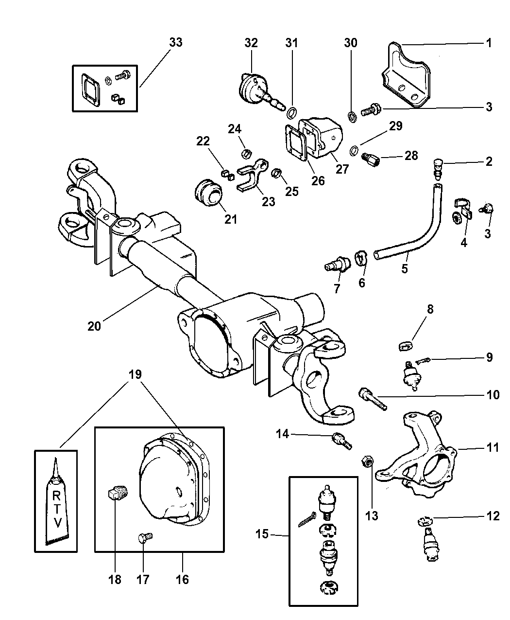 1998 Dodge Ram 1500 Front Suspension Diagram