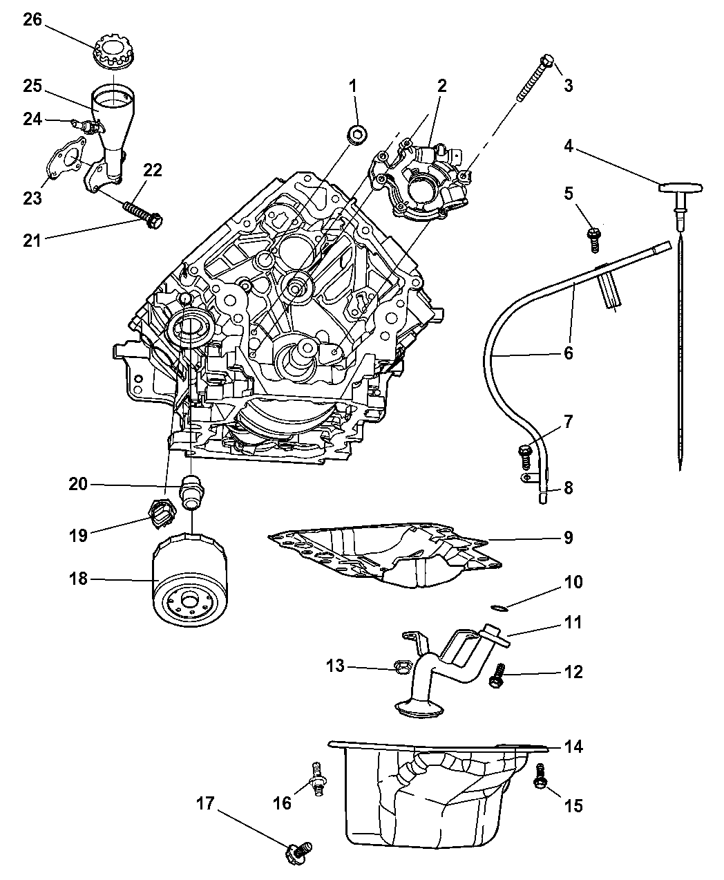 2007 Jeep Commander Engine Diagram