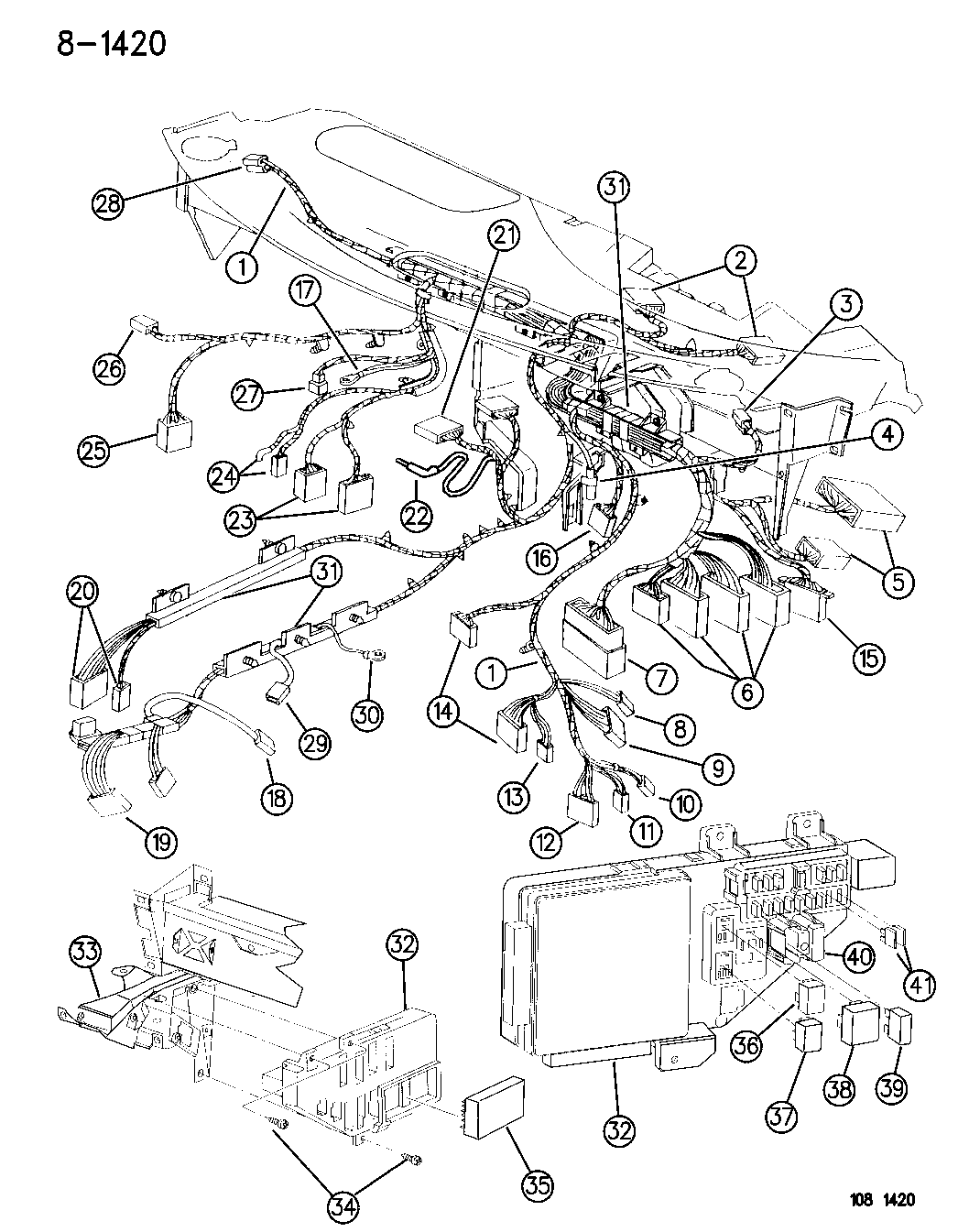 1996 Dodge Stratu Wiring Diagram