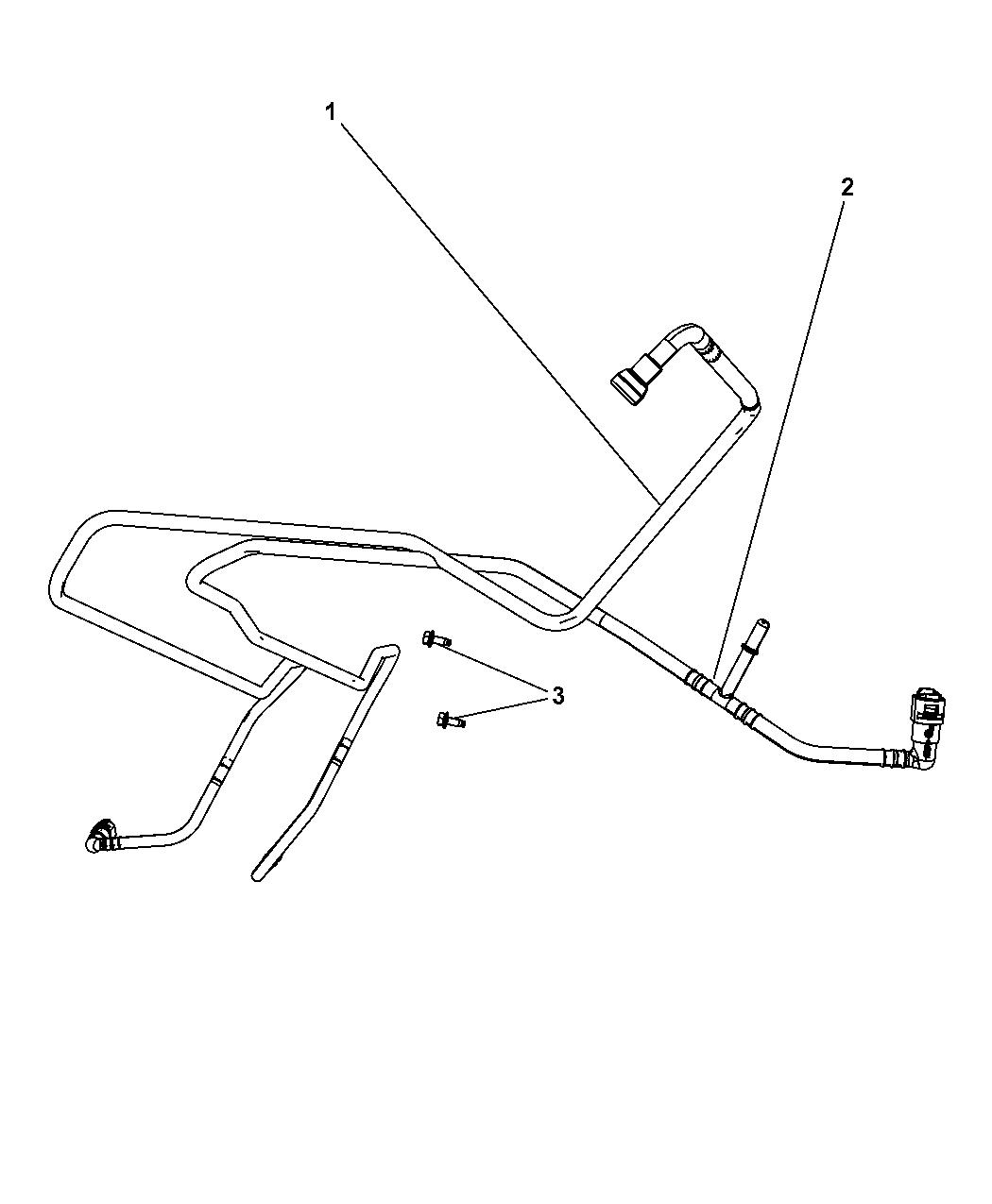 2007 Jeep Wrangler Fuel Lines Mopar Parts Giant Gas Tank Diagram Thumbnail 2