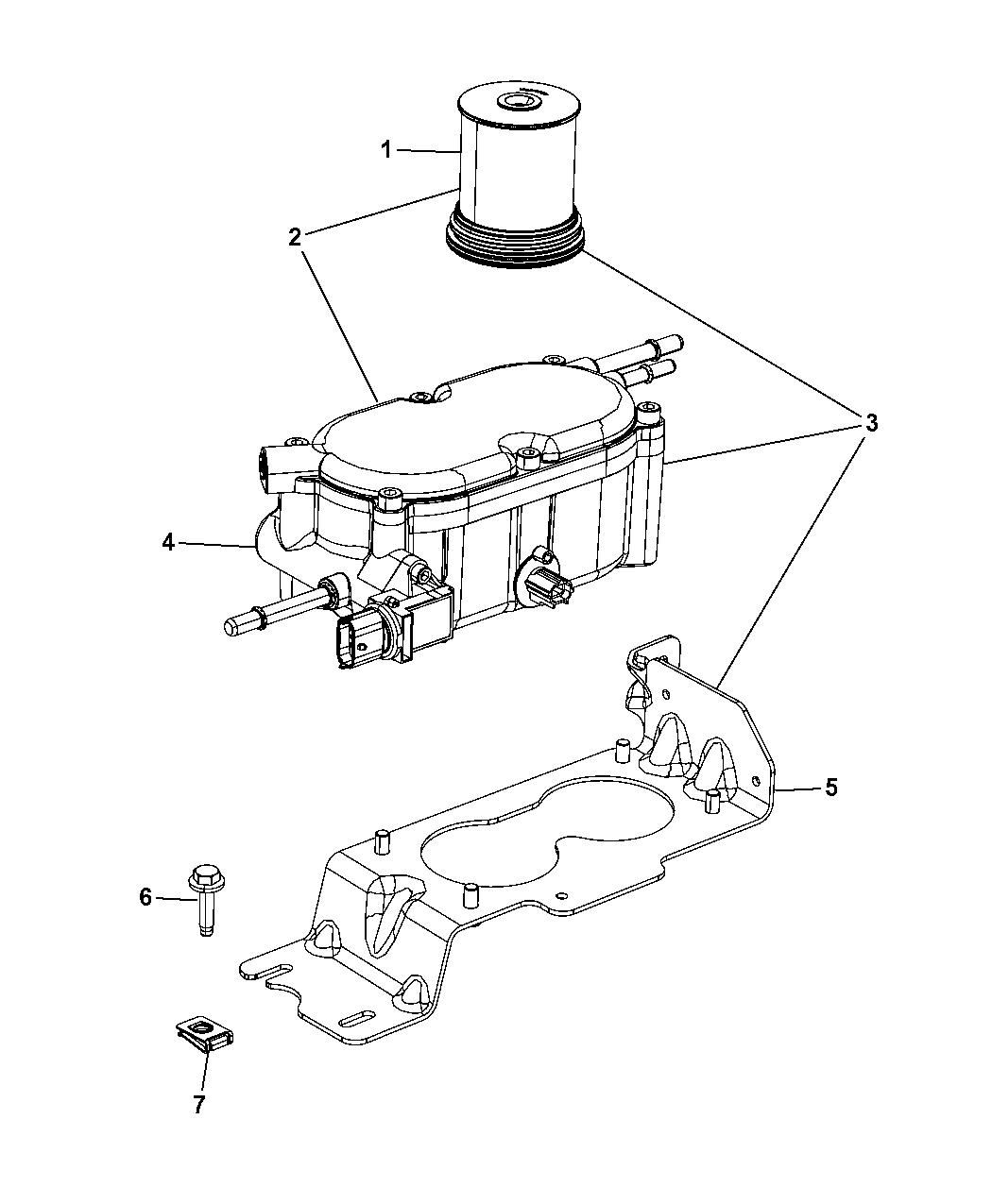 4726067aa  water separator