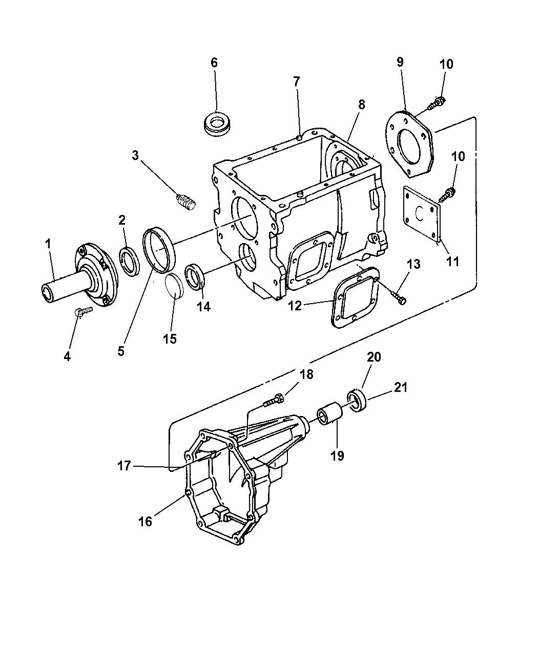 1997 Dodge Ram 3500 Case