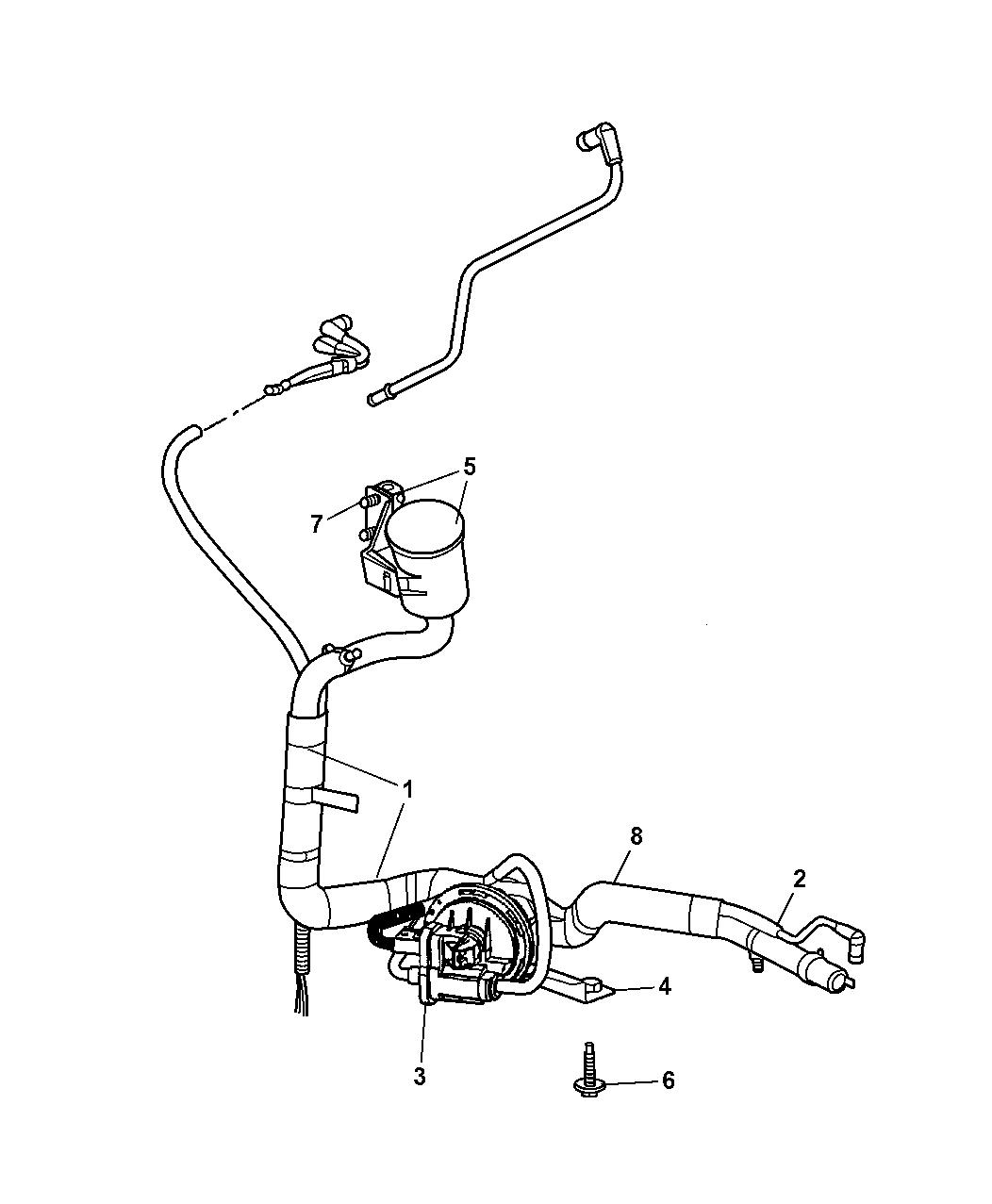 2004 Dodge Grand Caravan Leak Detection Pump Mopar Parts Giant Engine Schematics
