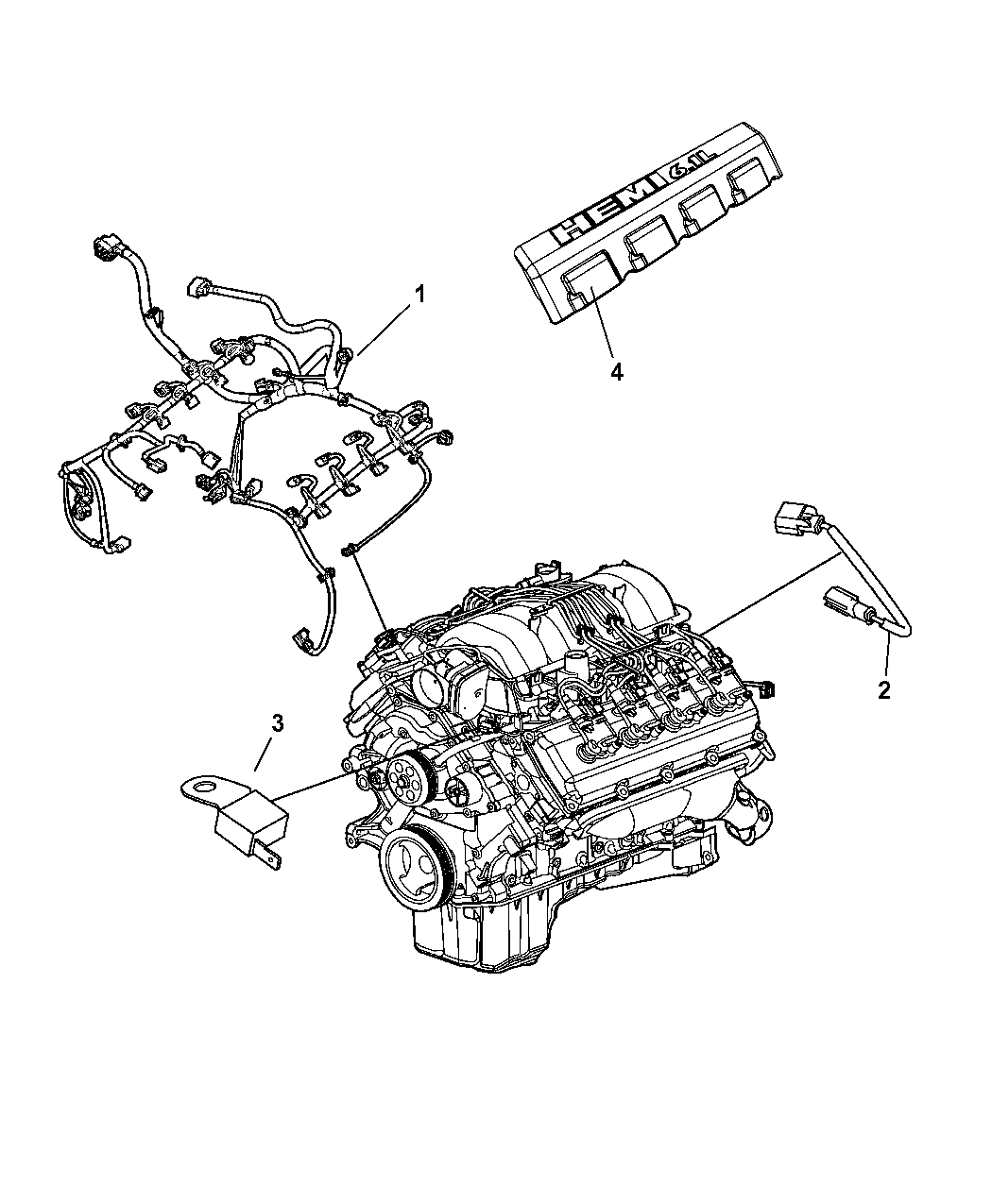 2008 Dodge Charger Engine Diagram