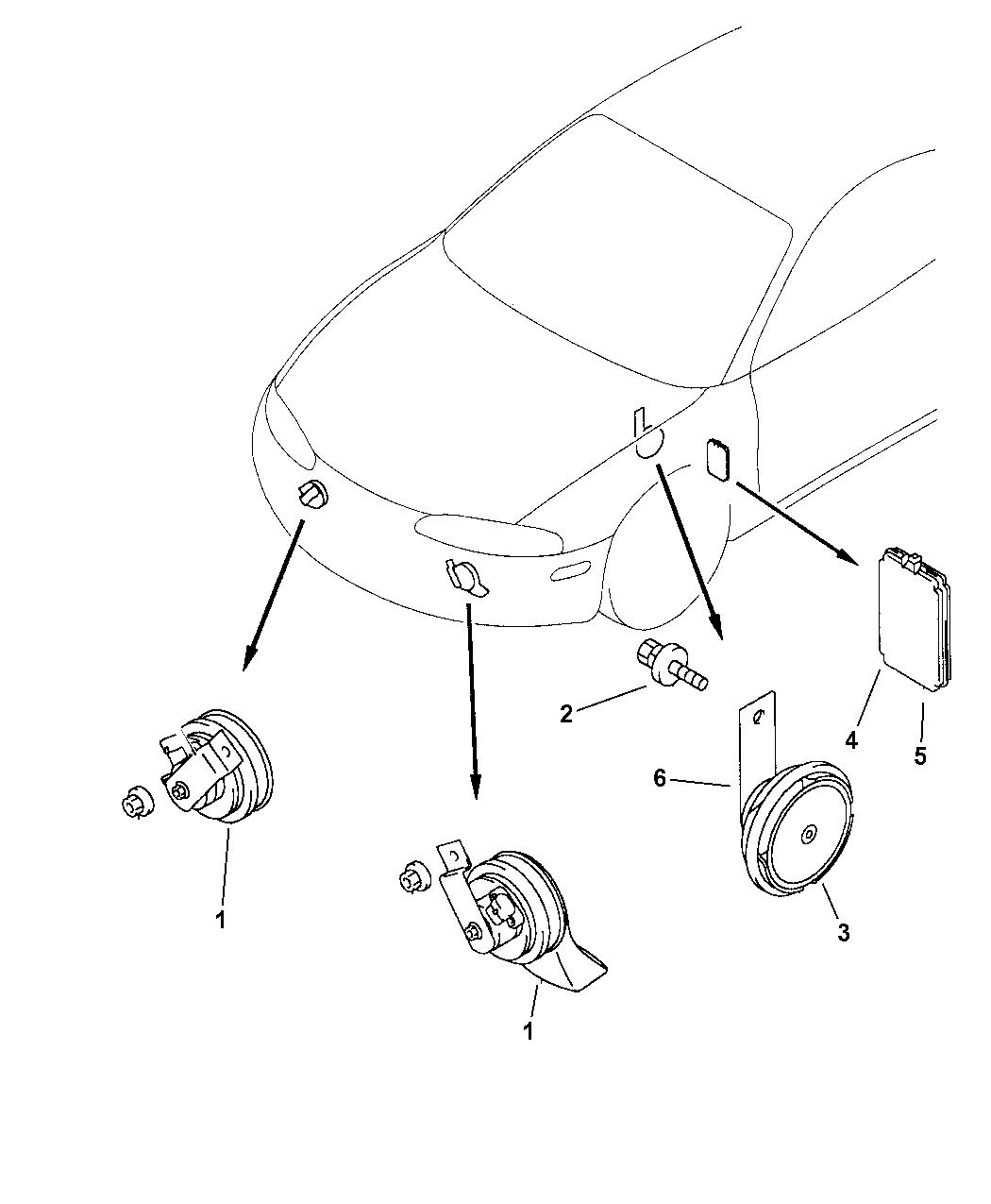 Chrysler Sebring Wiring Diagram Horn