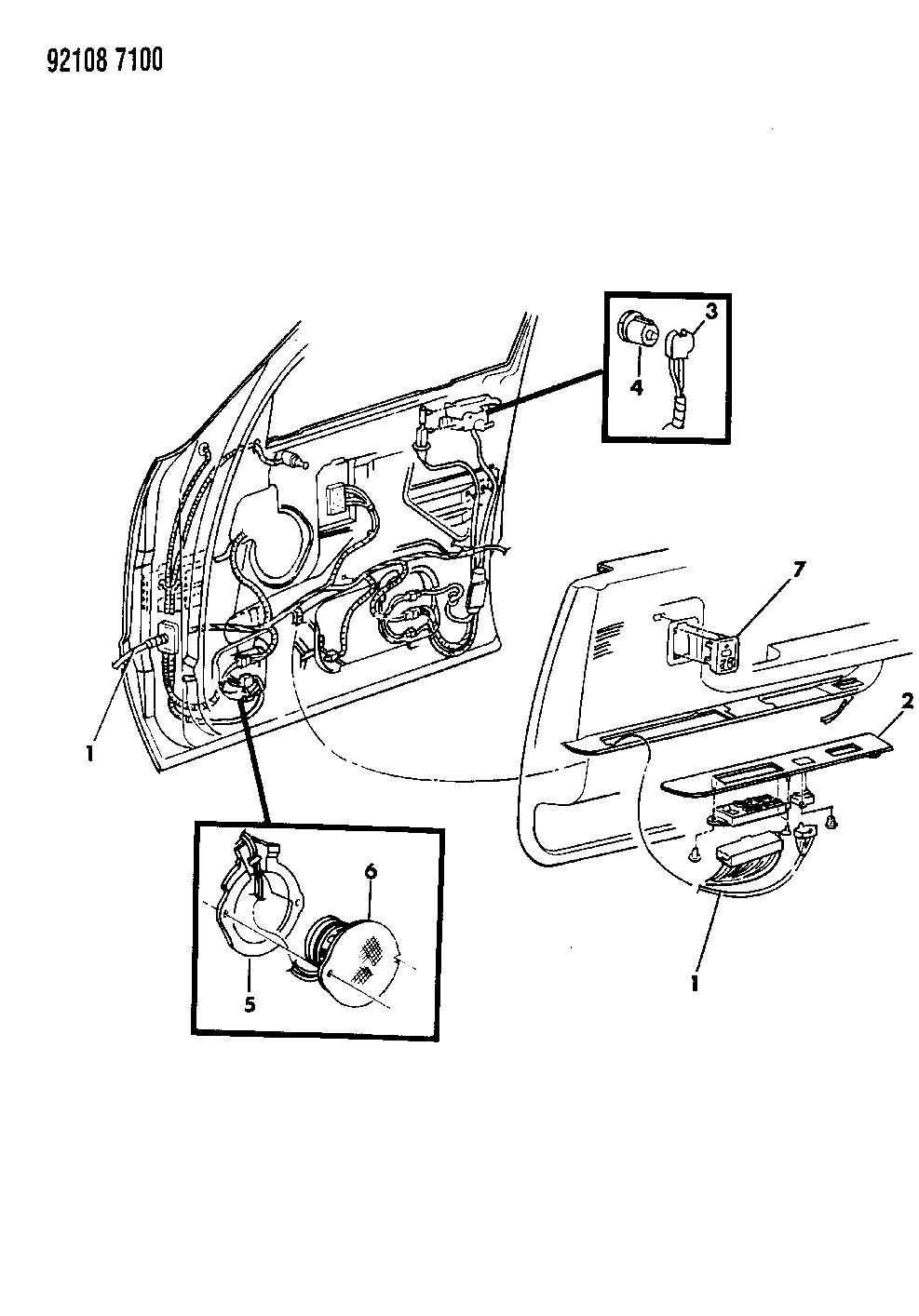 1992 Dodge Dynasty Wiring  U0026 Switches