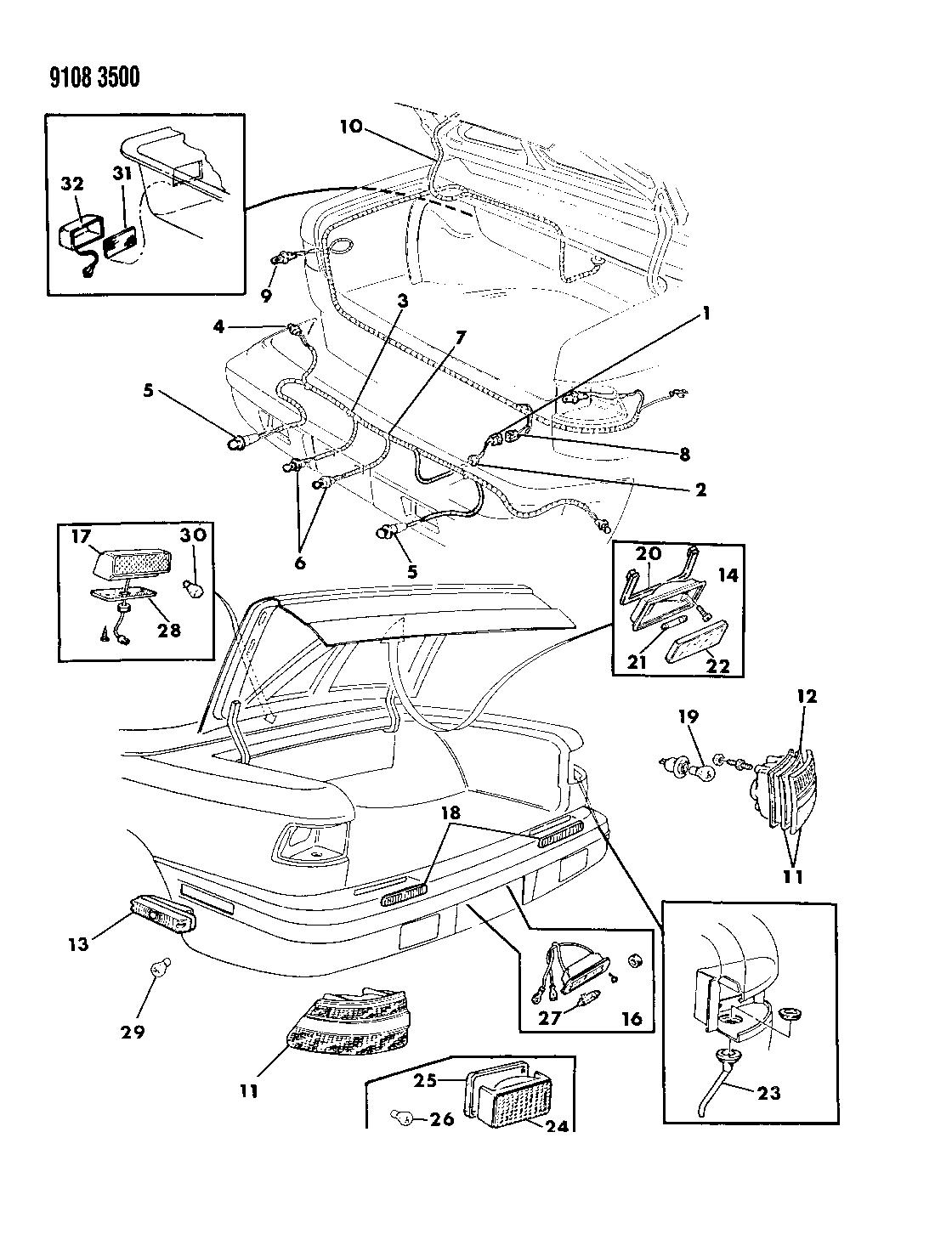 Chrysler Tc By Maserati Electrical Diagrams • Wiring