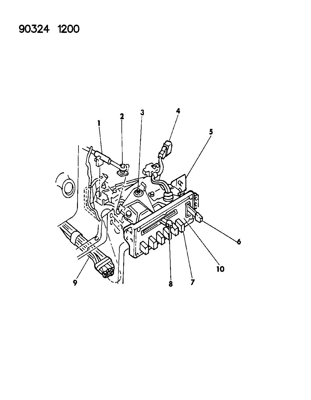 1993 Dodge W250 Control, A/C - Mopar Parts Giant on
