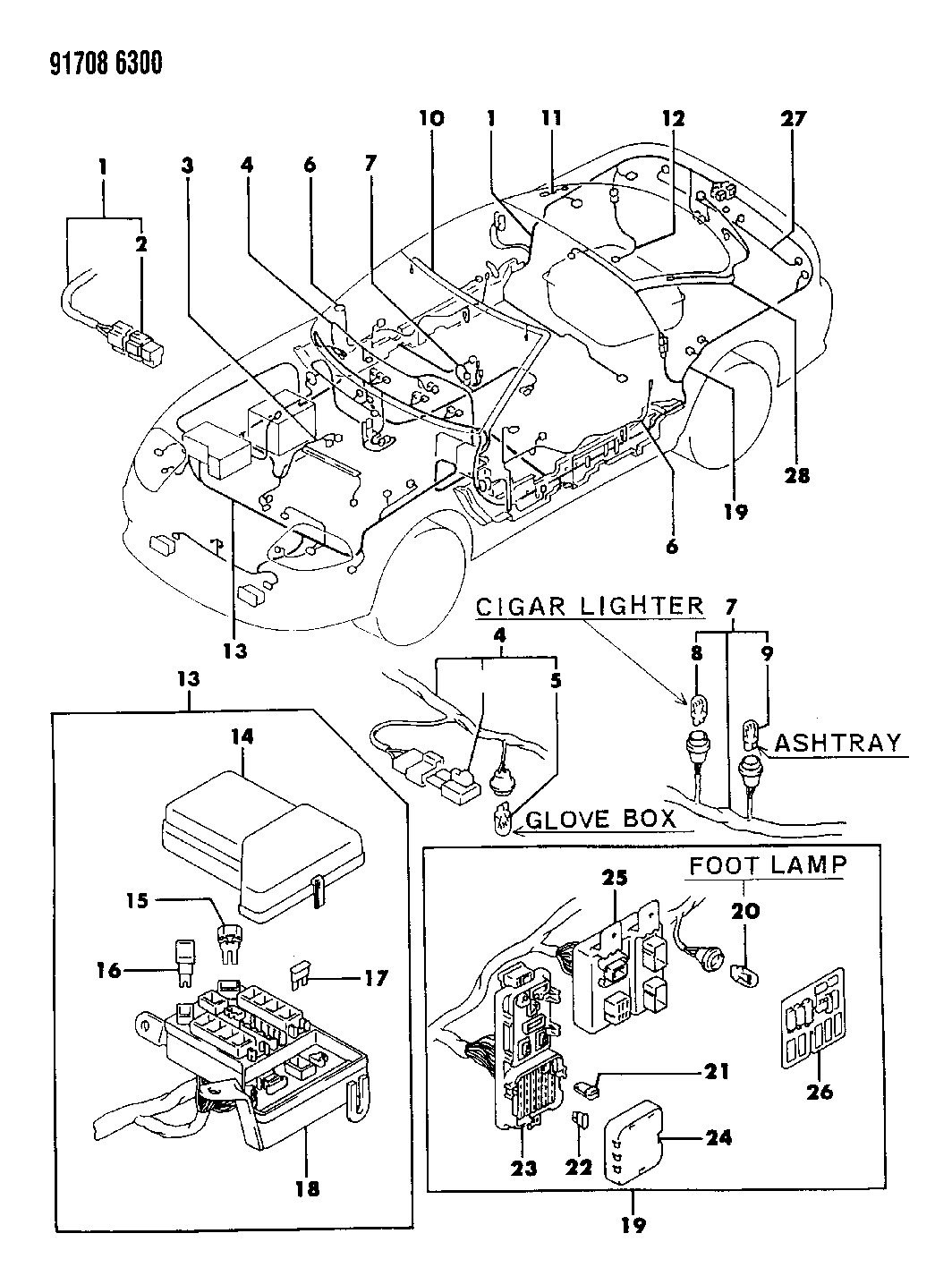 wiring diagram dodge stealth