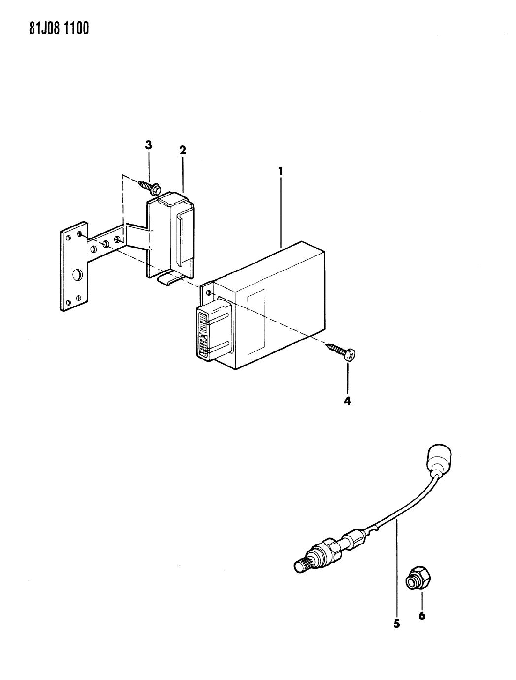 1984 Jeep J20 Microprocessors Oxygen Sensors 1982 J 20 Wiring Diagram