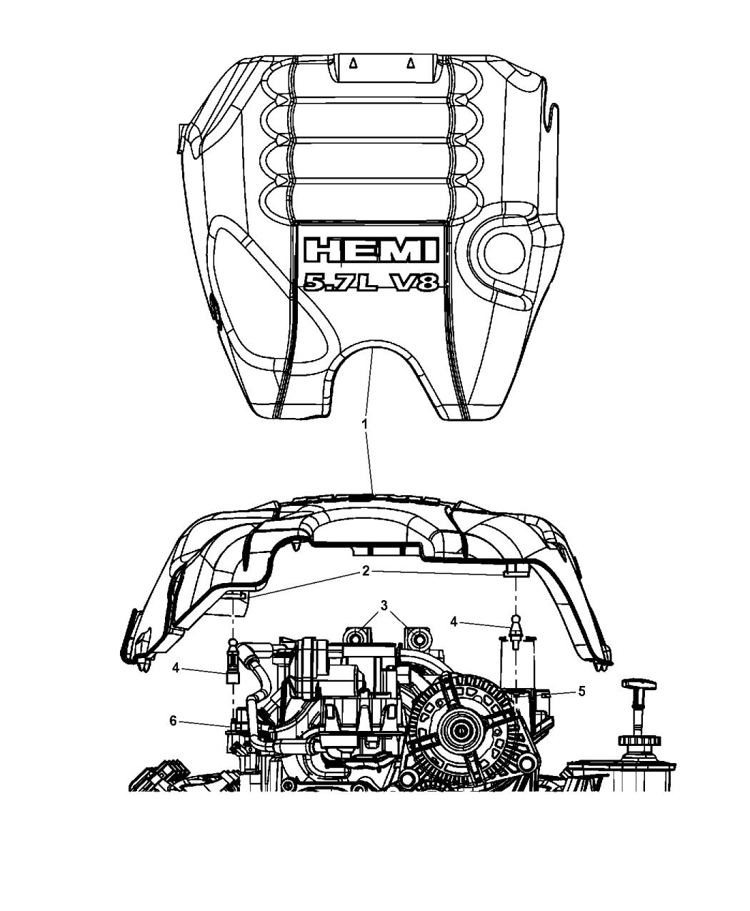 Genuine Mopar COVER-ENGINE