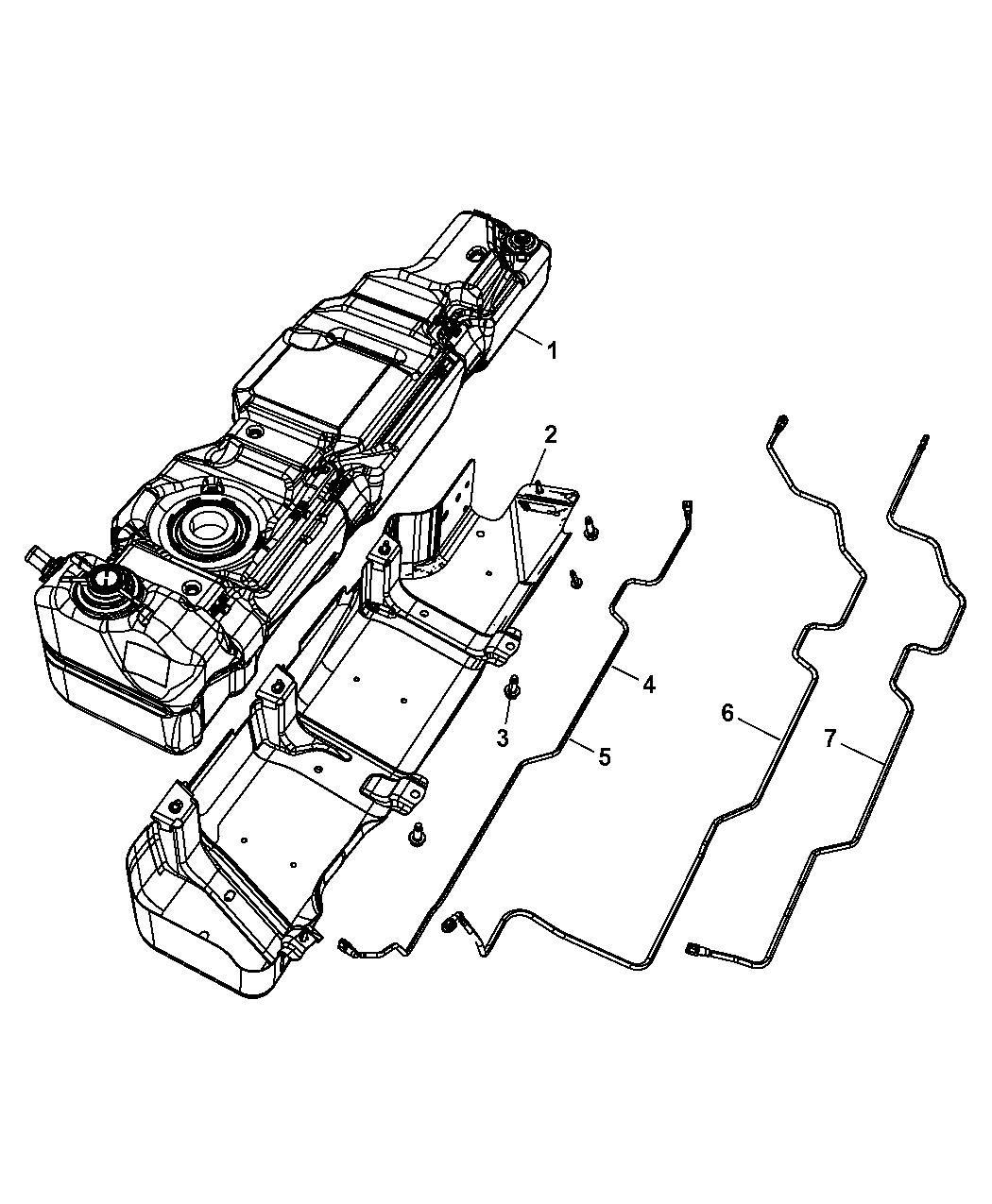 2011 jeep wrangler fuel tank