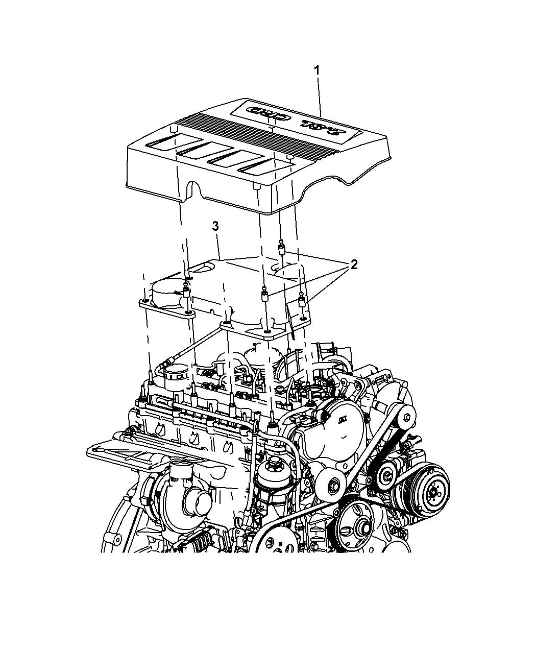 2009 dodge nitro engine timing diagram