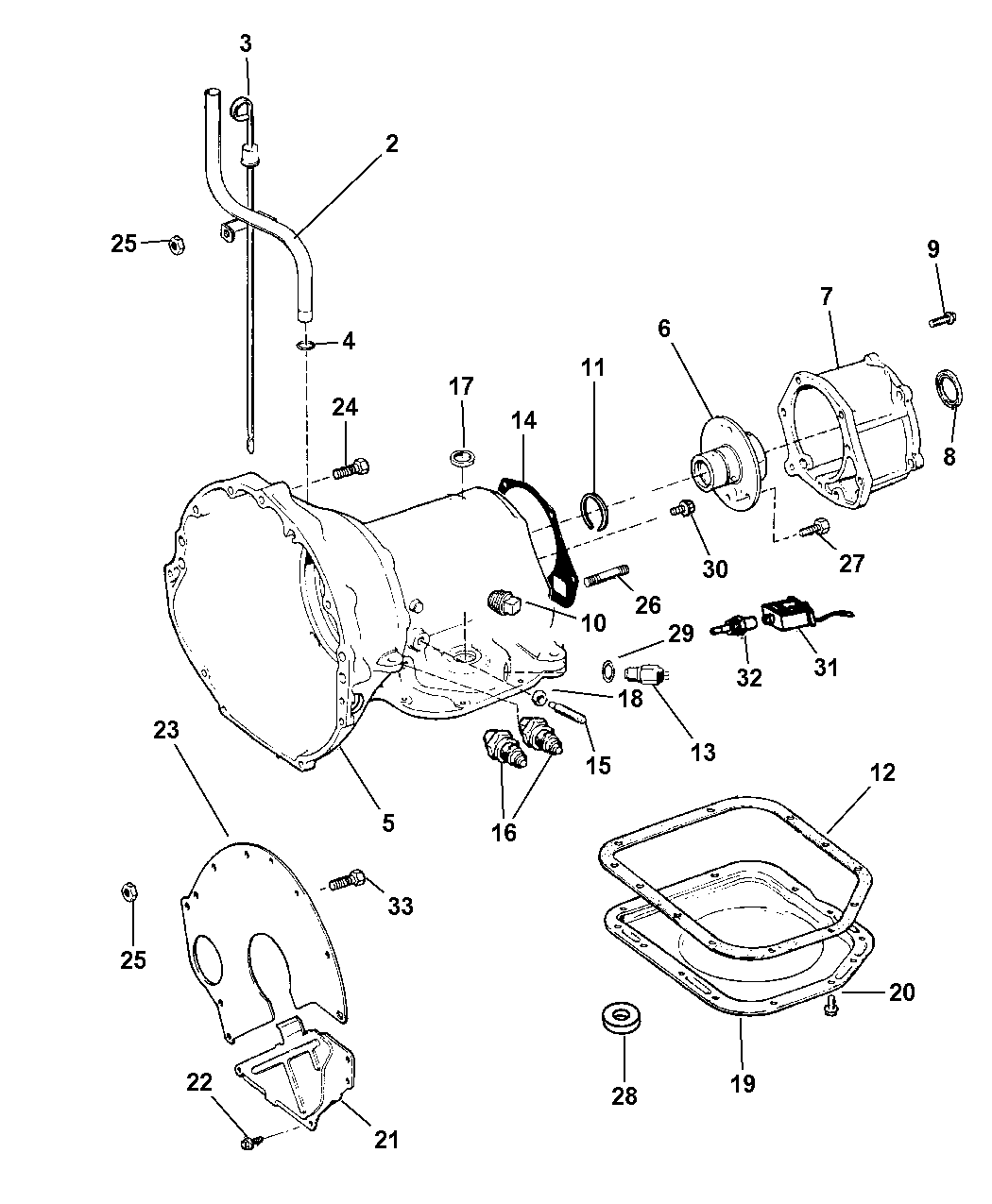 1997 Jeep Wrangler Case & Related Parts - Thumbnail 1