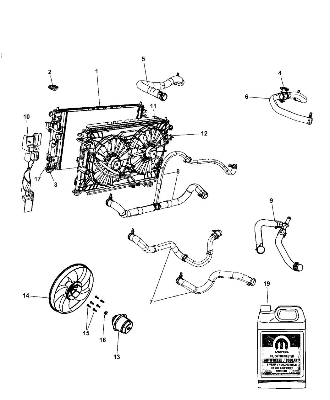 2009 Dodge Avenger Transmission: 2009 Dodge Avenger Radiator & Related Parts