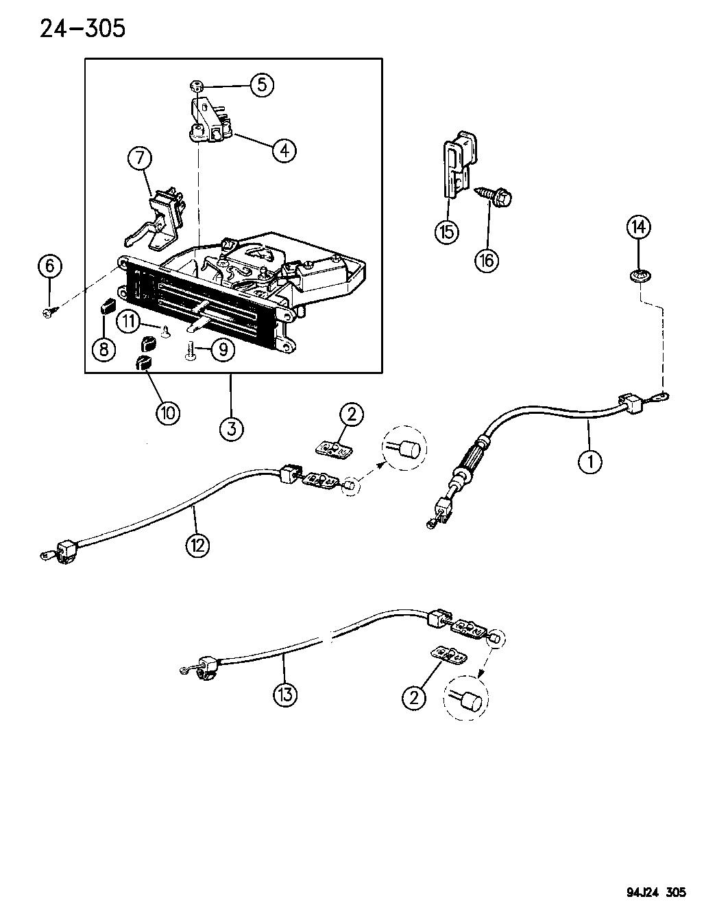 1995 jeep wrangler controls, heater \u0026 fresh air Jeep Heater Box
