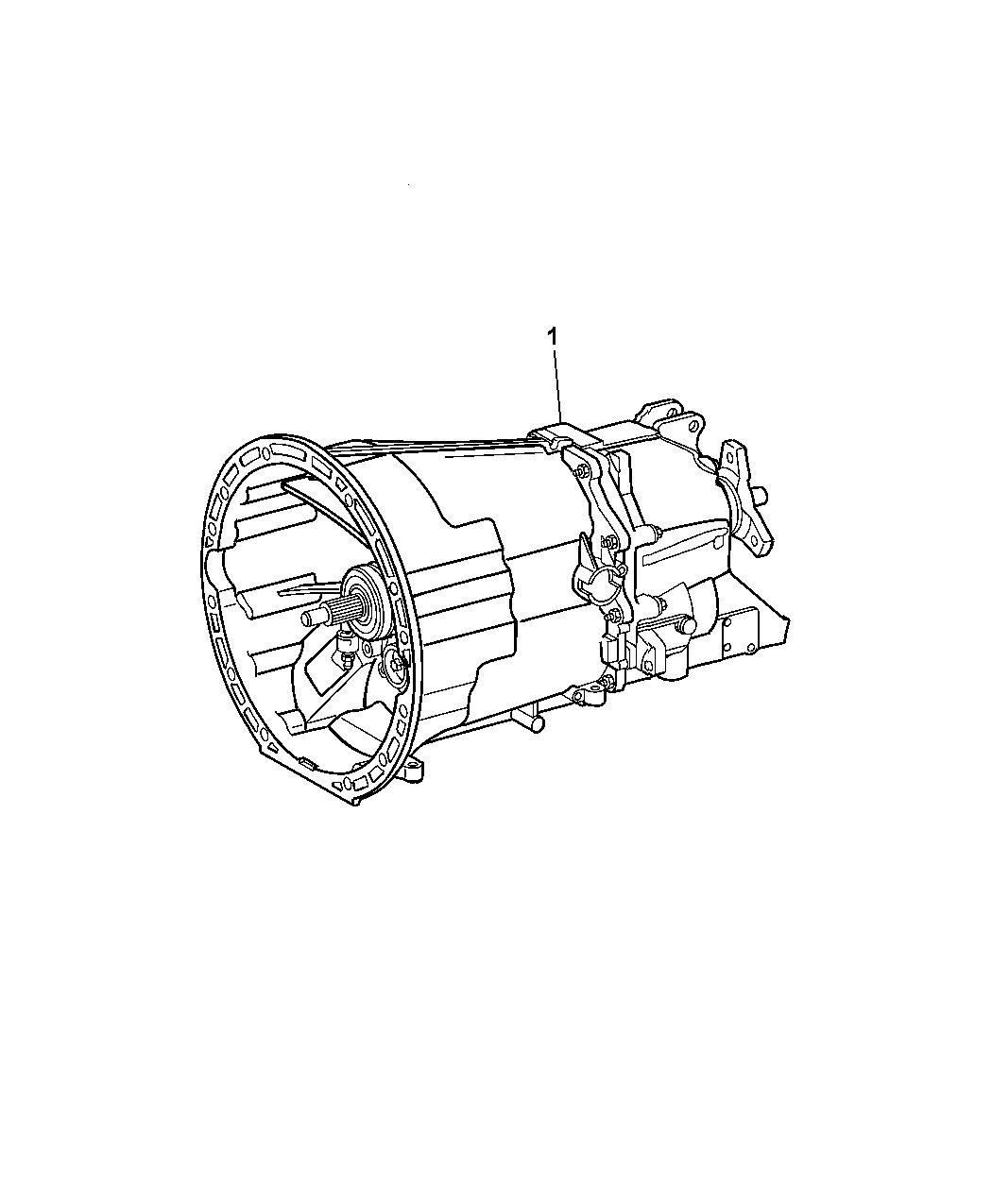 2007 Dodge Nitro Transmission Assembly Of Manual Transmission