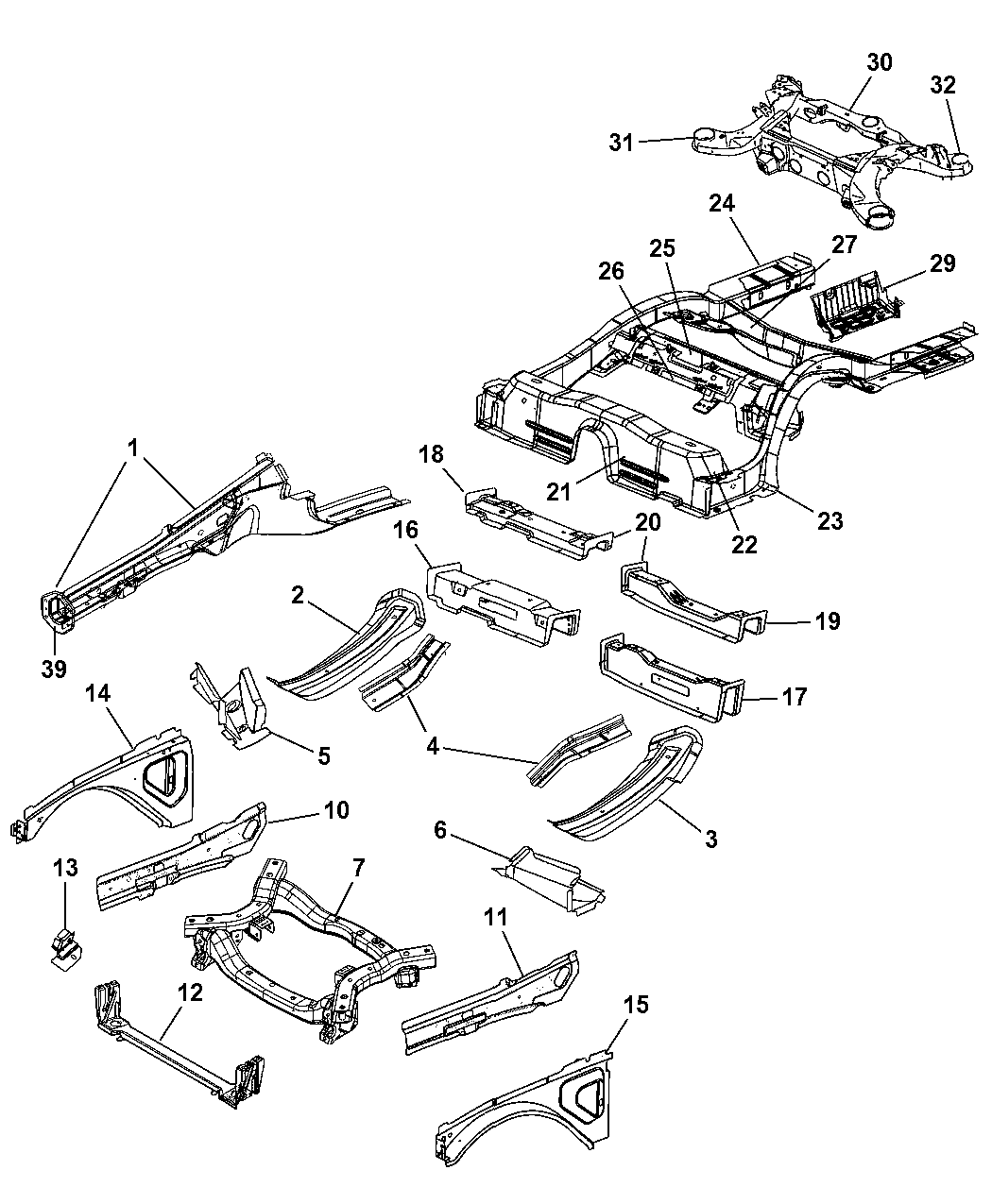 srt8 chrysler 300 parts diagram