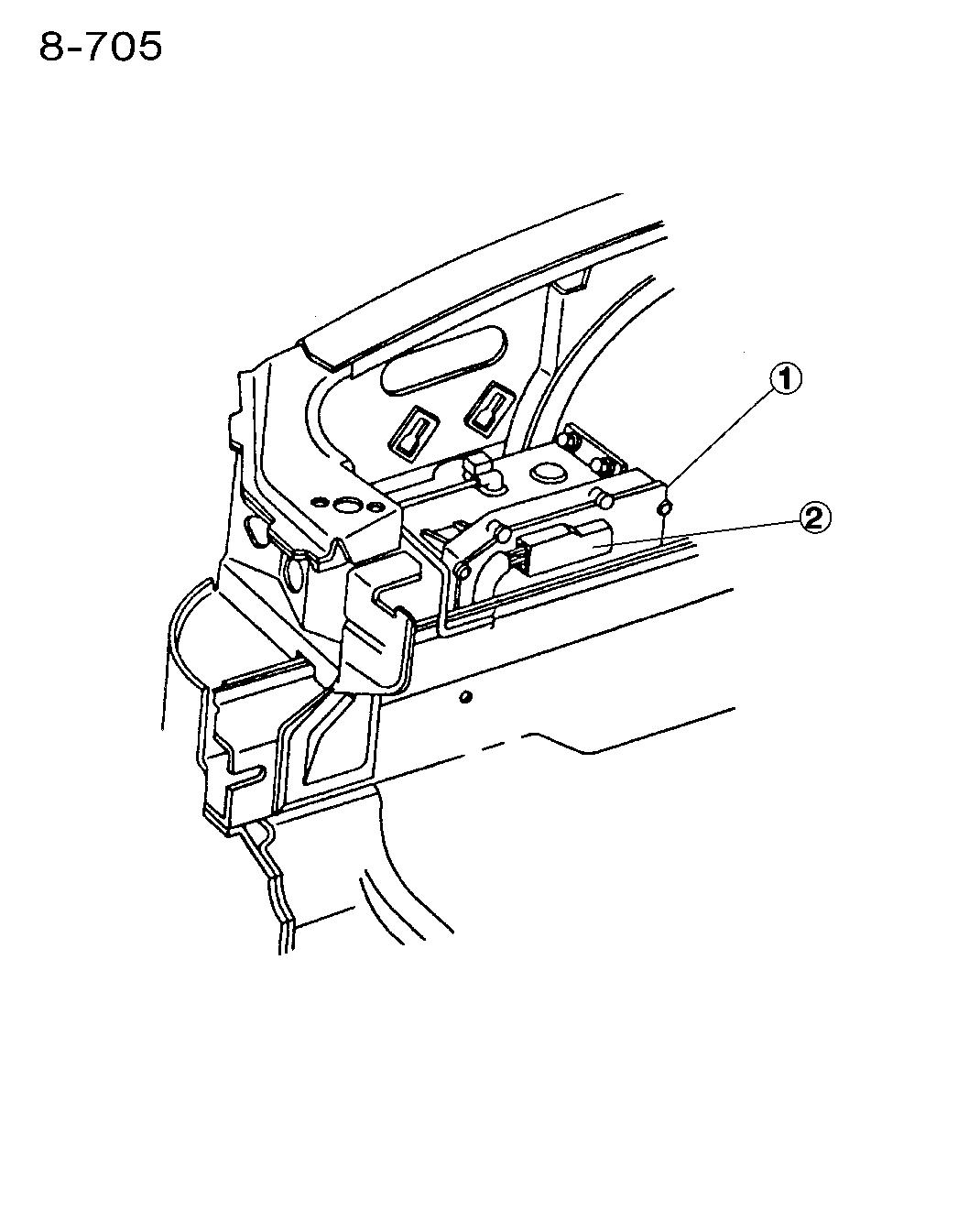 1995 Chrysler Lhs Single Board Engine Controller Wiring Diagram
