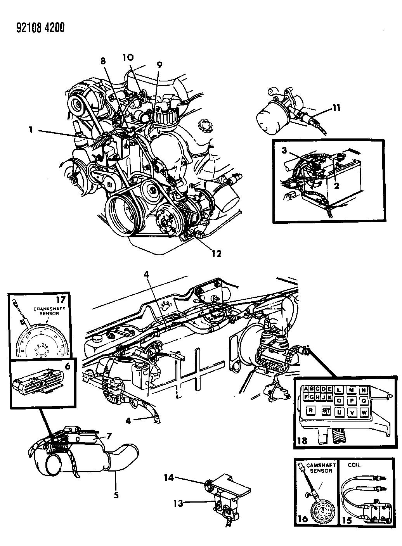 5267604 - Genuine Chrysler WIRING-ENGINE 3.0L