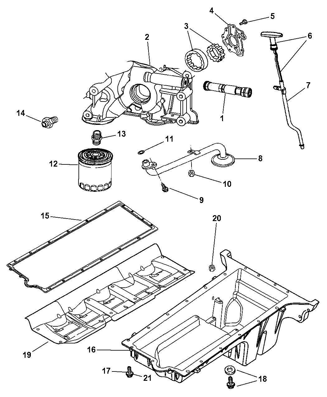 2006 dodge viper engine oiling mopar parts giant Ferrari F12 Engine Diagram