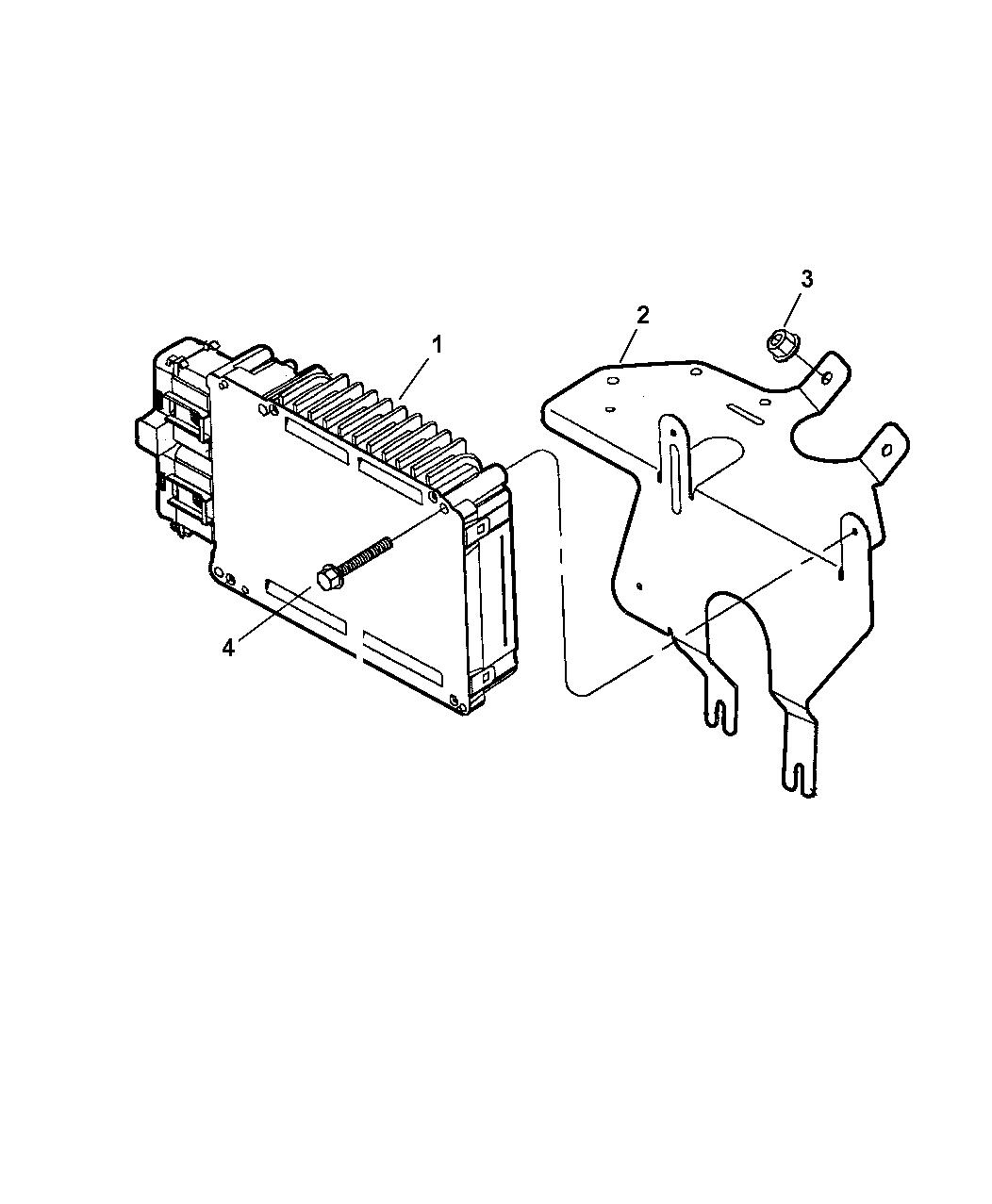 2006 Chrysler Pacifica Powertrain Control Module