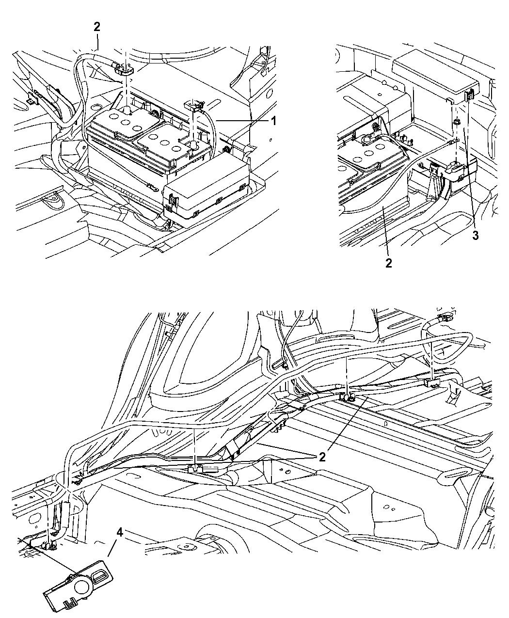 Mopar Battery In Trunk Wiring Diagram - Wiring Diagrams Dock