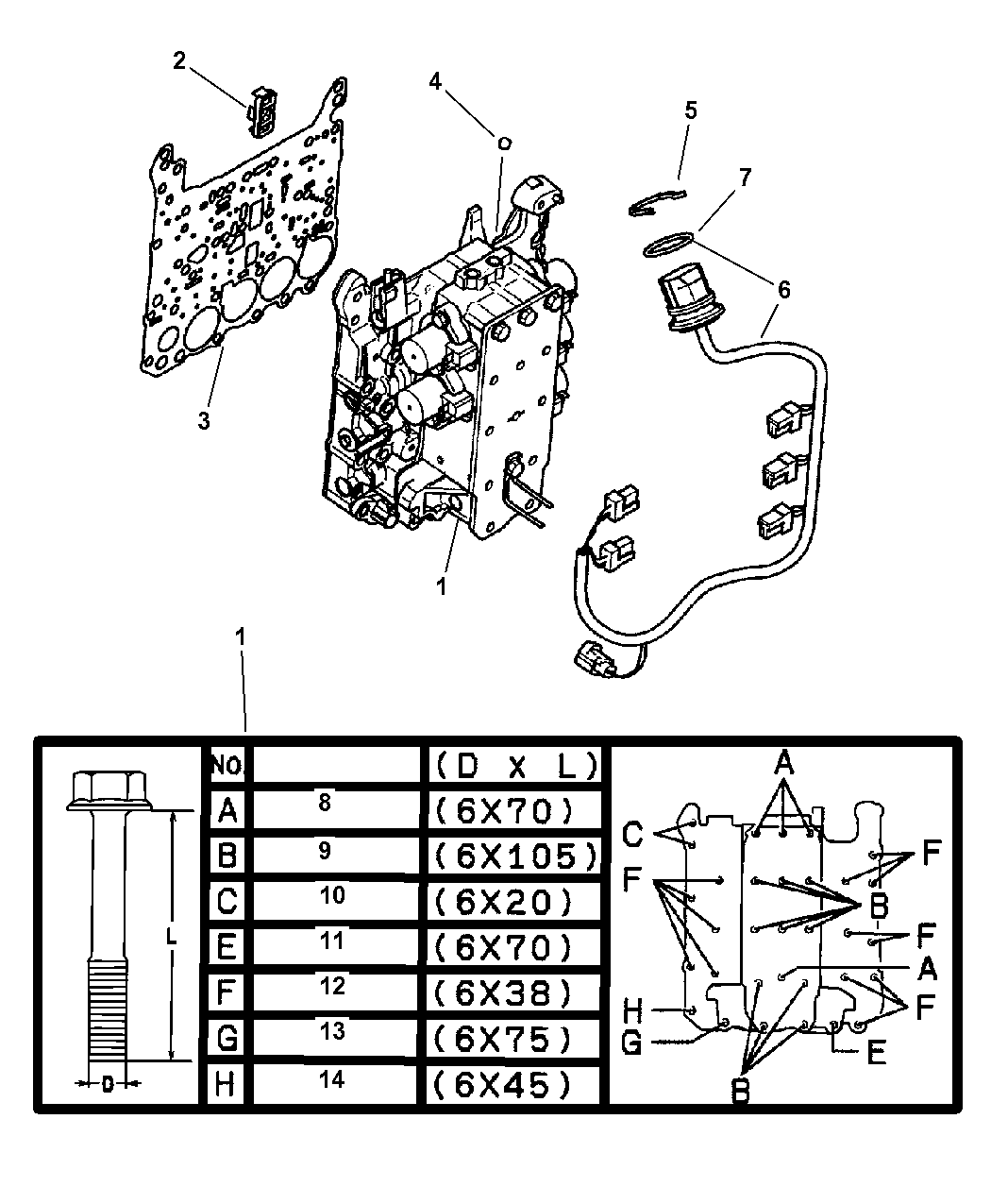 mopar e body wiring diagram