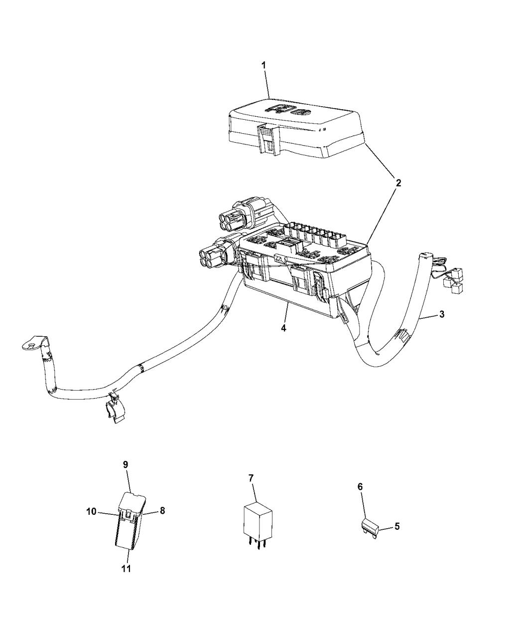 2015 ram 2500 auxiliary  u0026 integral pdc