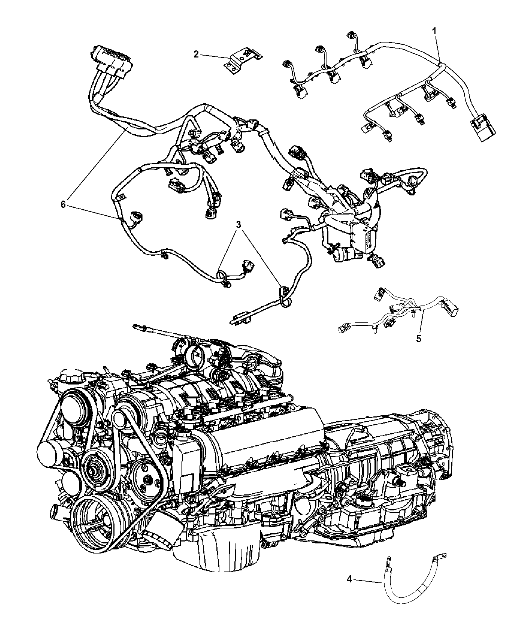 2012 jeep grand cherokee wiring diagram 68101292ac genuine mopar wiring engine  68101292ac genuine mopar wiring engine