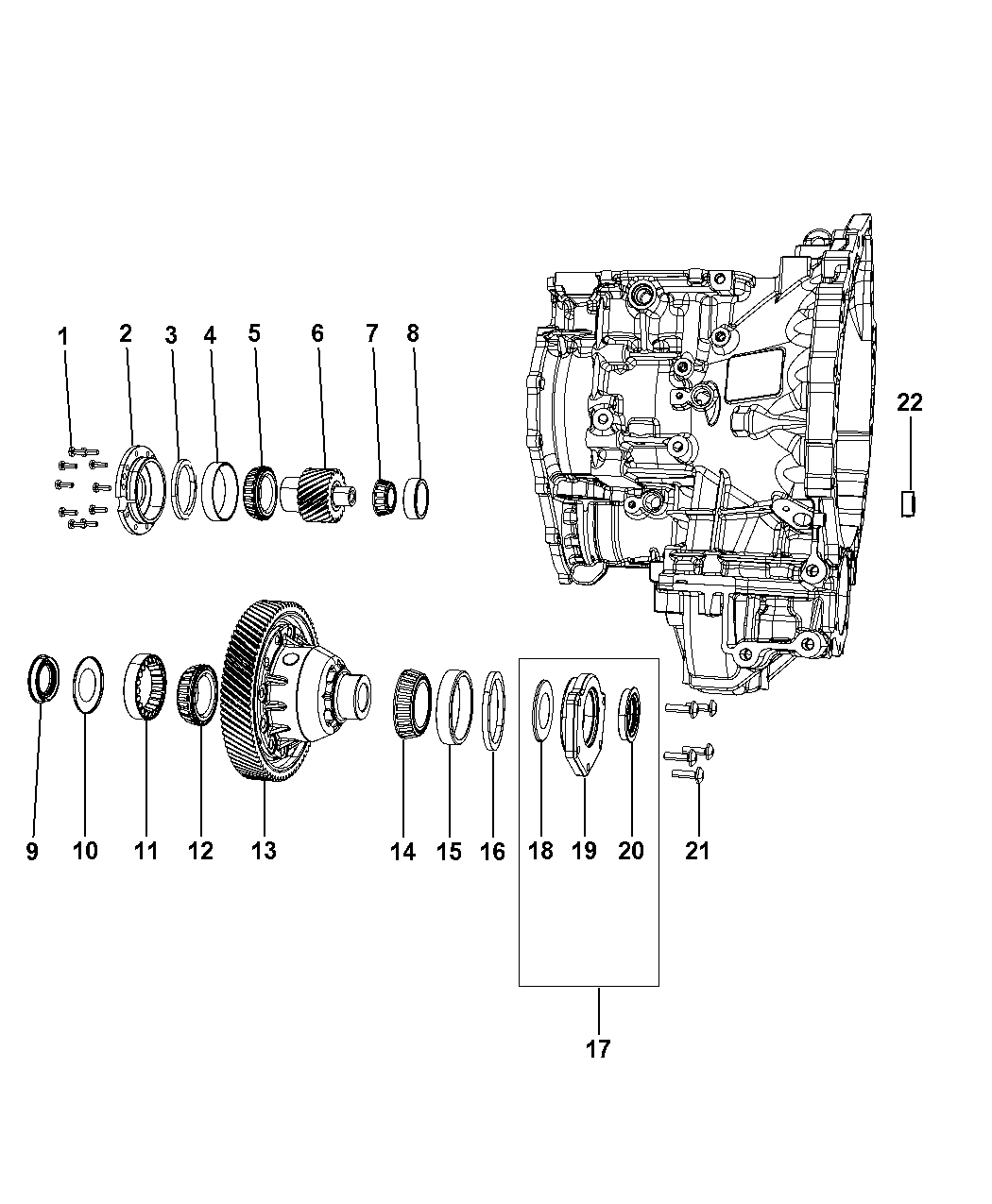2009 Dodge Journey Transmission Diagram