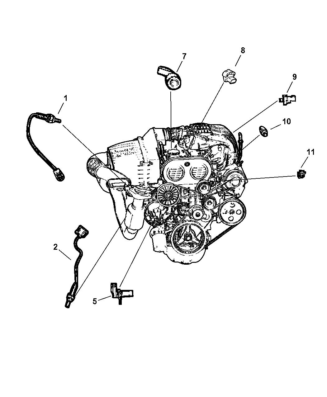 2003 Jeep Liberty Sensor - Engine