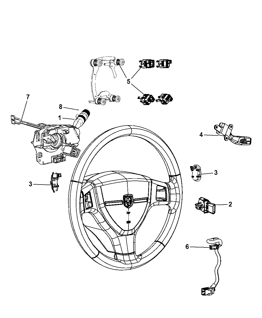 Overland Jeep Steering Parts Diagram. Jeep. Auto Wiring