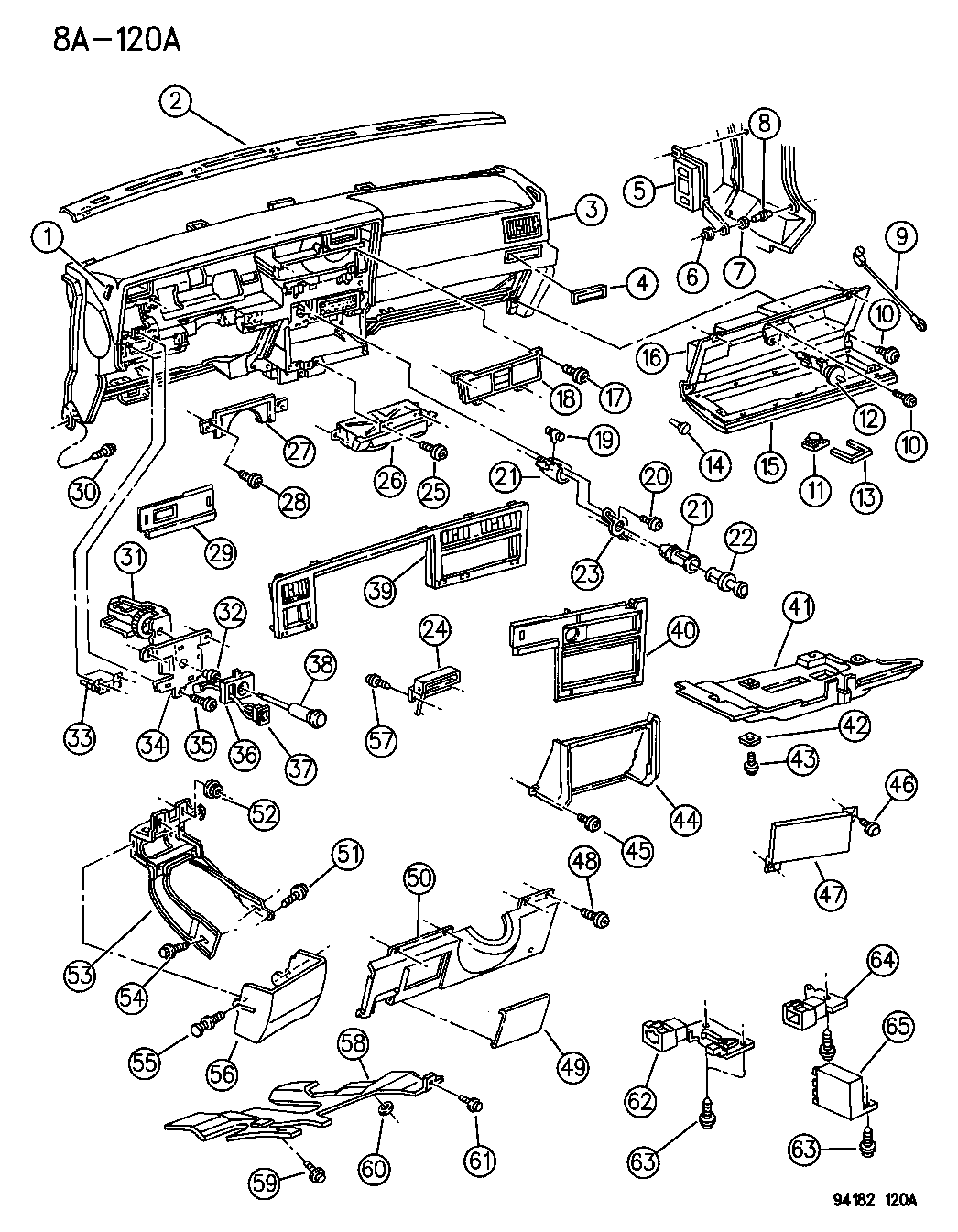 1992 Dodge Spirit Fuse Box Diagram